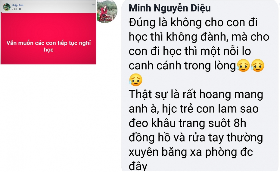 ha tinh loay hoay viec quyet dinh cho hoc sinh den truong truoc dich covid 19