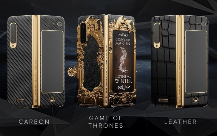 chiem nguong galaxy fold phien ban game of thrones co gia 190 trieu
