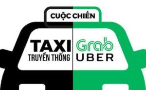 hiep hoi taxi da nang doa kien grab cuoc chien taxi len nac thang moi