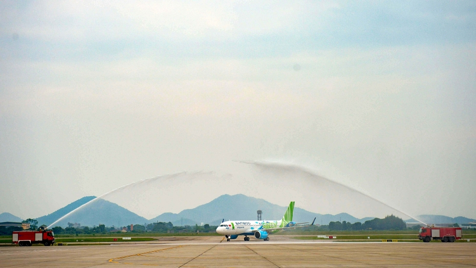 bamboo airways don may bay a320neo dau tien