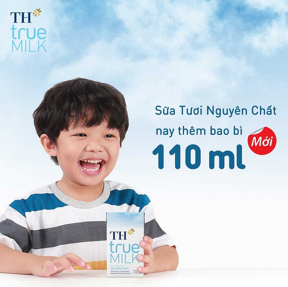 ra mat sua tuoi tiet trung nguyen chat th true milk 110 ml