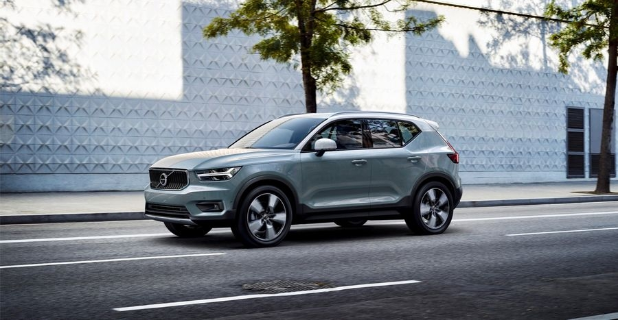 volvo ra mat suv xc40 an toan nhat the gioi gia 175 ty dong