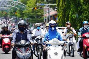Trung Bộ nắng nóng diện rộng, chỉ số tia UV tại Đà Nẵng ở mức cao