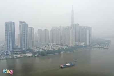 Nguyên nhân TP.HCM sương mù sáng nay