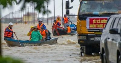 Miền Trung thiệt hại 28.800 tỉ đồng vì bão lũ