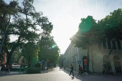 Thời tiết ảnh hưởng đến chất lượng không khí Hà Nội trong tuần qua