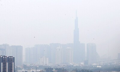 Chất lượng không khí TP.HCM đang có xu hướng xấu đi