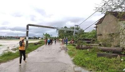Các địa phương tập trung khắc phục hậu quả mưa bão