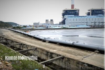 Công an đang làm rõ việc Nhà máy Nhiệt điện Vũng Áng 1 bơm tro xỉ ra môi trường