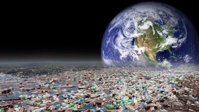 Nhựa đang dần 'chiếm lĩnh' Trái đất