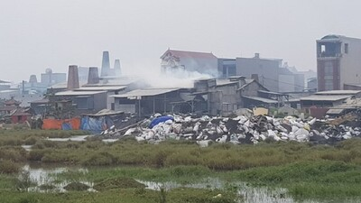 Bắc Ninh đầu tư 165 tỉ đồng xử lý 'núi rác' ở làng nghề Mẫn Xá
