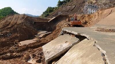 Bộ NN&PTNT lý giải nguyên nhân vỡ kênh Bắc sông Chu - Nam sông Mã
