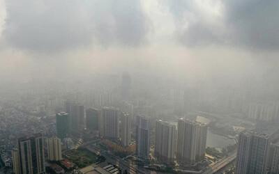 Hà Nội lại 'chìm' trong ô nhiễm không khí