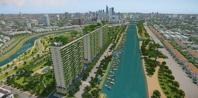 Lợi ích của công trình xanh trong bối cảnh ô nhiễm không khí