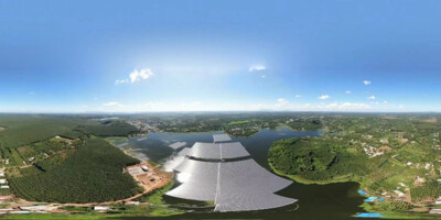 Tận dụng mặt hồ làm điện mặt trời nổi