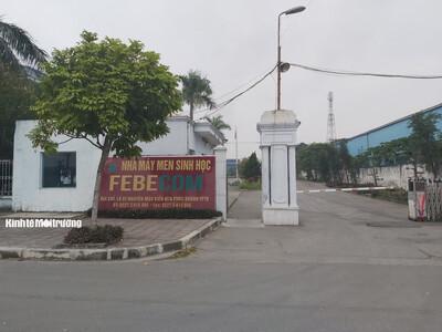 Chây ì khắc phục sai phạm môi trường, Febecom bị phạt 350 triệu đồng