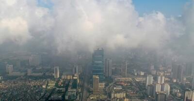 Chất lượng không khí các tỉnh miền Bắc đang ở mức xấu