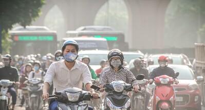 Hà Nội chỉ số bụi mịn PM2.5 đang cao nhất trong năm