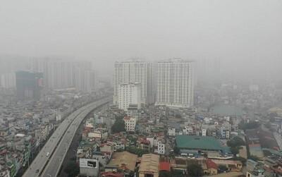 Không khí ở miền Bắc tiếp tục ảnh hưởng xấu đến sức khỏe