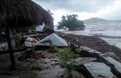 Indonesia cảnh báo nguy cơ lở đất và ngập lụt do bão