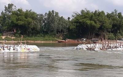 Nước sông Cầu Đỏ nhiễm mặn, Đà Nẵng lại nhờ Quảng Nam điều tiết nước sông thượng nguồn
