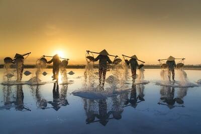 4 cánh đồng muối nổi tiếng ở miền Trung