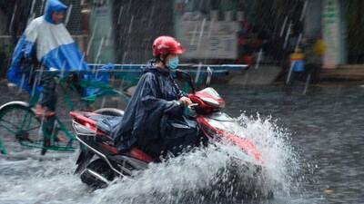 Không khí lạnh tiếp tục gây mưa dông trên diện rộng ở Bắc Bộ