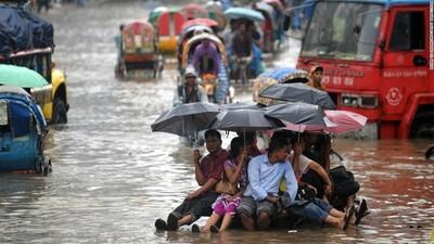Hàng trăm triệu người đang đối mặt với hiểm họa do biến đổi khí hậu