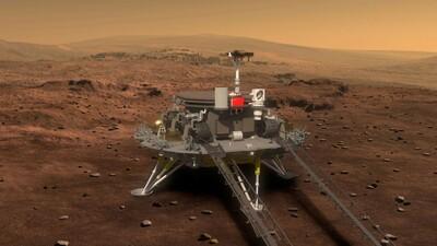 Tàu Trung Quốc lần đầu hạ cánh xuống Hỏa tinh