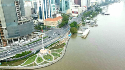 TP.HCM chấp thuận phương án cải tạo Công viên bến Bạch Đằng