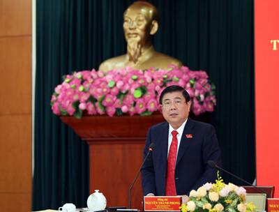 Đồng chí Nguyễn Thành Phong tái đắc cử Chủ tịch UBND TP.HCM