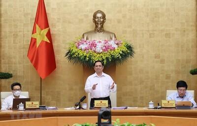 Phiên họp Chính phủ: Chưa thay đổi mục tiêu tăng trưởng kinh tế