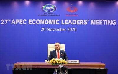 Chủ tịch nước tham dự cuộc họp không chính thức các nhà lãnh đạo APEC