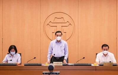 Chủ tịch UBND TP.Hà Nội Chu Ngọc Anh kêu gọi người dân thực hiện khai báo y tế thường xuyên