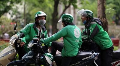 Grab đề nghị shipper được tiếp tục giao hàng ở Hà Nội trong thời gian giãn cách
