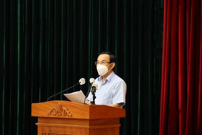 Bí thư Thành ủy TP.HCM cảm ơn người dân chung tay chống dịch Covid-19
