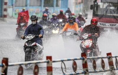 TP.HCM mưa lớn kéo dài do ảnh hưởng của bão In-Fa