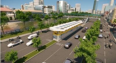TP.HCM chuẩn bị triển khai dự án xe bus nhanh BRT