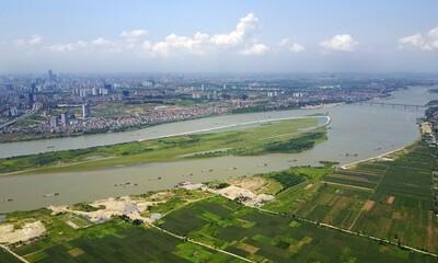 Tiếp thu, hoàn thiện đồ án Quy hoạch phân khu sông Hồng