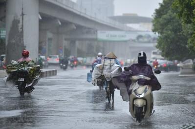 Thời tiết ngày 16/8: Mưa dông nhiều nơi trên cả nước