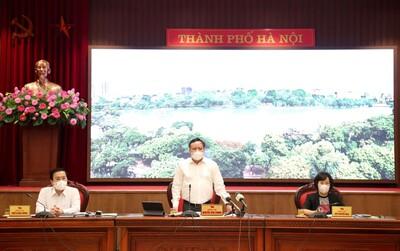 Thành ủy Hà Nội: Đồng ý chủ trương tiếp tục giãn cách xã hội đến 6 giờ ngày 6/9
