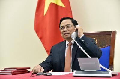 Thủ tướng Phạm Minh Chính dự Hội nghị thượng đỉnh thương mại dịch vụ toàn cầu năm 2021