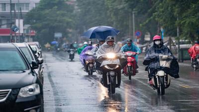 Thời tiết ngày 3/9: Bắc Bộ tiếp tục mưa dông, trời mát mẻ