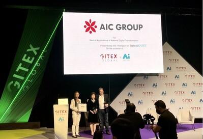 AIC Group giành giải AI danh giá nhất tại GITEX Global 2021