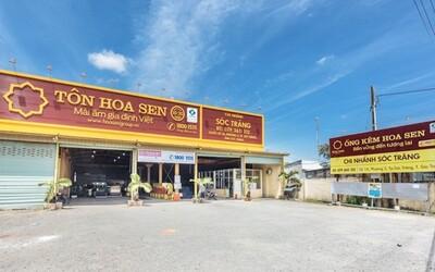 Tôn Hoa Sen giải thể công ty con sau khi đóng cửa hơn 300 chi nhánh