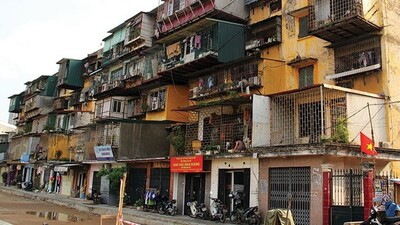 Chung cư cũ ở Hà Nội có thể đổ sụp khi động đất từ 4 độ?