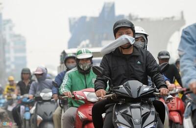 Chất lượng không khí Hà Nội ở mức nguy hại sáng nay (10/12)