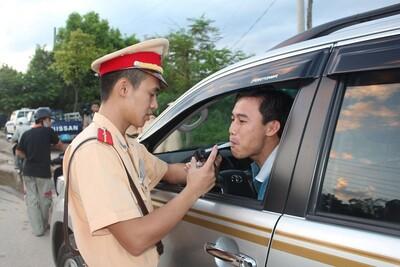 Xử phạt nhiều trường hợp có nồng độ cồn khi tham gia giao thông