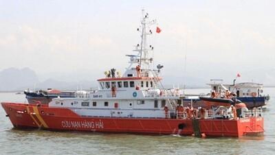 Hải Phòng huy động tàu SAR sẵn sàng ứng phó bão số 3