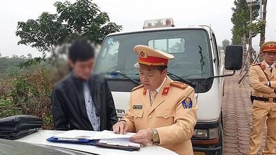 Cảnh sát giao thông sẽ xử lý vi phạm nồng độ cồn trong 7 ngày Tết